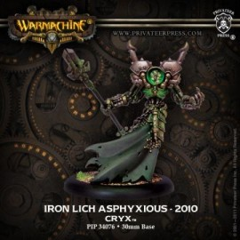 Iron Lich Asphyxious - 2010 Sculpt