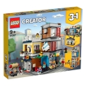 Townhouse Pet Shop & Cafe LEGO® Creator 3-in-1 31097