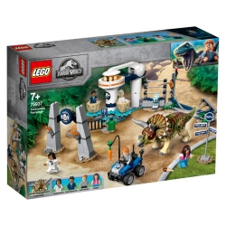 Triceratops Rampage LEGO® Jurassic World™ 75937