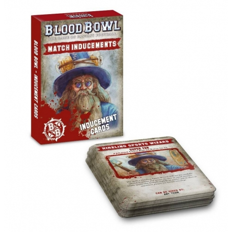 Blood Bowl: Inducements Cards - English
