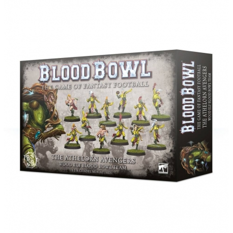 The Athelorn Avengers Wood Elf Blood Bowl Team