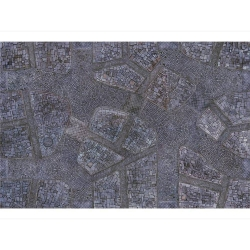 Cobblestone City 6x4 Gaming Mat