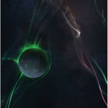 Space Sector 7 3x3 Gaming Mat (Variant B)