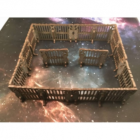 Sci-fi Fence (for 28mm and 32mm)