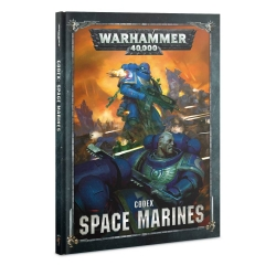 Codex: Space Marines Hardback - English