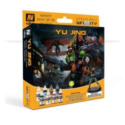 Model Colour Set: Infinity Yu Jing + Exclusive Miniature