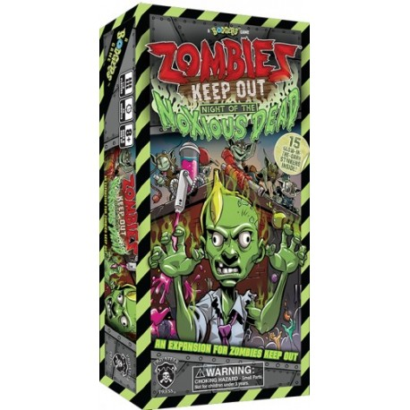 Zombies Keep Out Night of the Noxious Dead Expansion