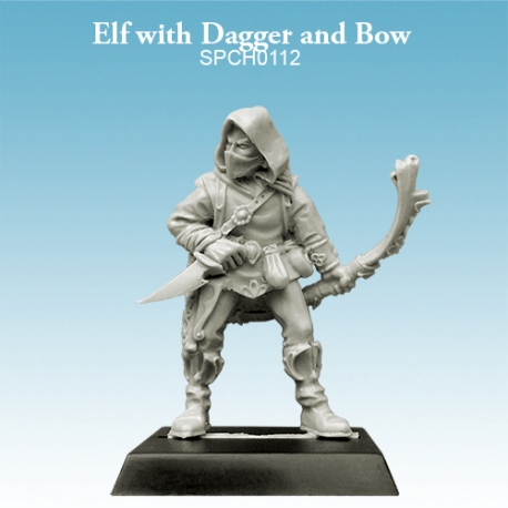 Elf with Dagger and Bow