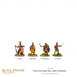 French Indian War: Indian Characters