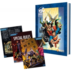 DC Universe Rulebook - Heroes Cover