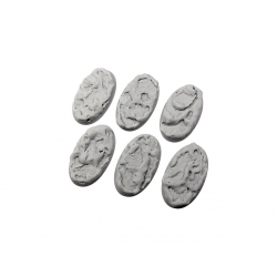 Winter Shale Bases, Oval 60mm