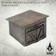 Poland 1939 Wooden Shed With Rabbit Cage And Pigeon House