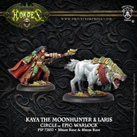 Kaya the Moonhunter and Laris