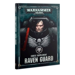 Codex Supplement: Raven Guard Hardback - English