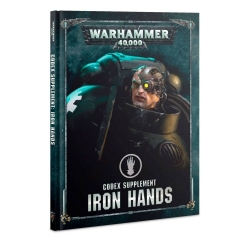 Codex Supplement: Iron Hands Hardback - English