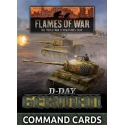 D-Day German Command Cards