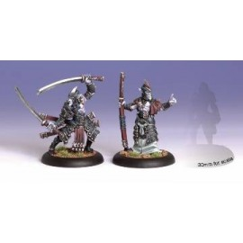 Everblight Swordsmen Abbott & Champion (2)