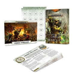 Warscroll Cards: Orruk Warclans - English