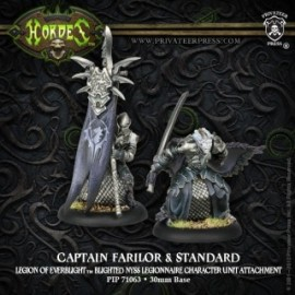 Captain Farilor and Standard Blighted Nyss Legionaire