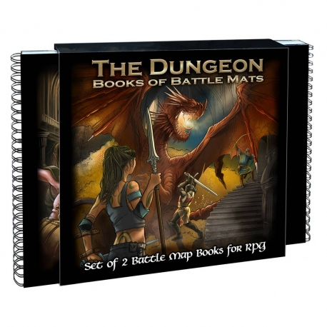 The Dungeon Books of Battle Mats