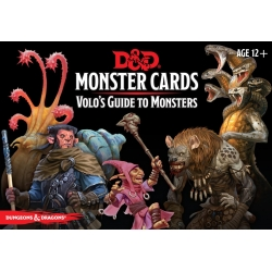 D&D 5th Monster Cards Volos Guide to Monsters