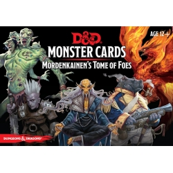 D&D 5th Monster Cards Mordekainens Tome