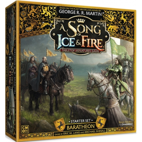 A Song Of Ice and Fire: Baratheon Starter Set Core Box