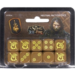 A Song Of Ice and Fire: Mercenaries Dice