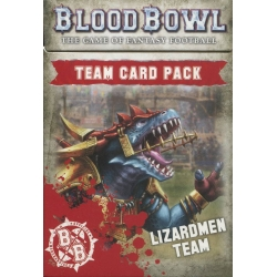 Blood Bowl: Lizardmen Team Card Pack - English