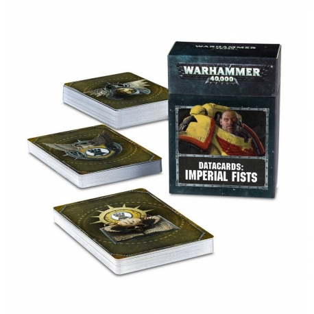 Datacards: Imperial Fists - English