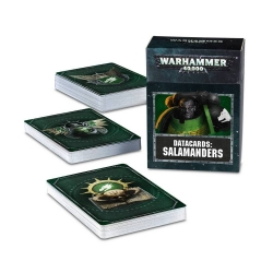 Datacards: Salamanders - English