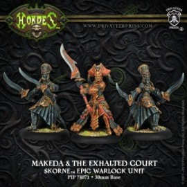 Makeda and Exalted Court