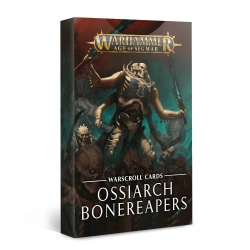 Warscroll Cards: Ossiarch Bonereapers - English