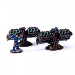 Defence Lines: Missile Launchers - Blue