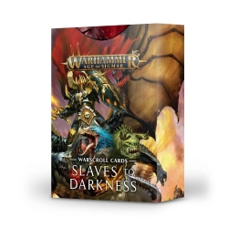 Warscroll Cards: Slaves to Darkness - English
