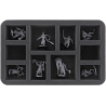 Feldherr Maxi Plus Bag for Warcry - 57 Warband Miniatures + Chaotic Beasts