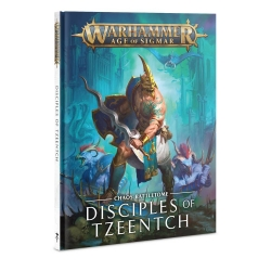 Battletome: Disciples Of Tzeentch Hardback - English