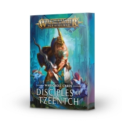 Warscroll Cards: Disciples Of Tzeentch - English