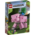 BigFig Pig with Baby Zombie LEGO® Minecraft™ 21157