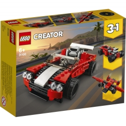 Sports Car LEGO® Creator 3-in-1 31100