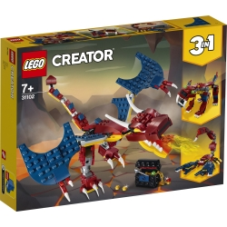 Fire Dragon LEGO® Creator 3-in-1 31102
