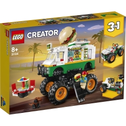 Monster Burger Truck LEGO® Creator 3-in-1 31104