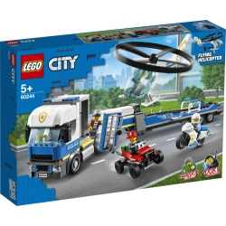 Police Helicopter Transport LEGO® City 60244