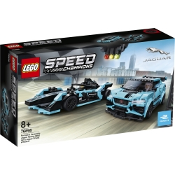 Formula E Panasonic Jaguar Racing GEN2 Car & Jaguar I-PACE eTROPHY LEGO® Speed Champions 76898