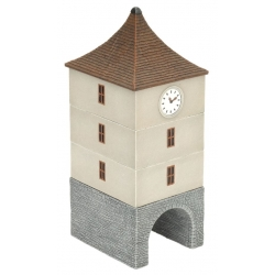 Clock Tower - WWII 15mm