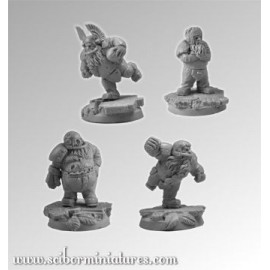 Dwarves Players Set 1