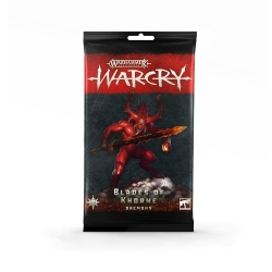 Warcry: Daemons of Khorne Card Pack
