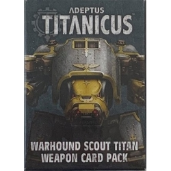 Warhound Weapons Card Pack - English