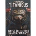 Reaver Weapons Card Pack - English