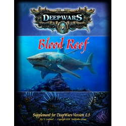 DeepWars - Blood Reef Campaign Supplement Softcover Rulebook